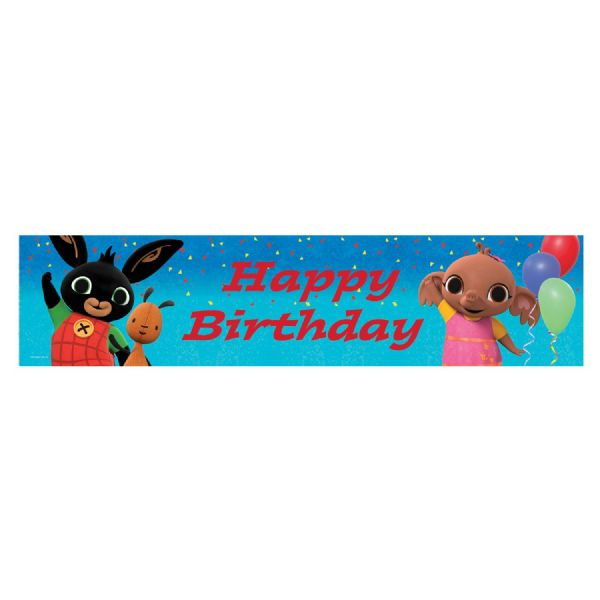 Bing Holographic Happy Birthday Banner